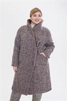 пальто женское 406/TM  60195 серое