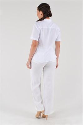 288-10 брюки льняные женские - фото 5667