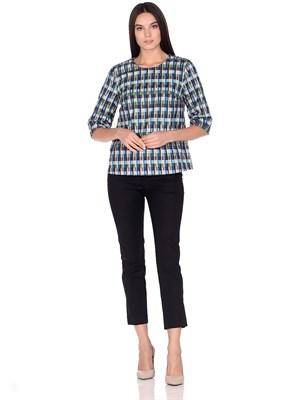 4491-5 блуза-свитшот - фото 5843