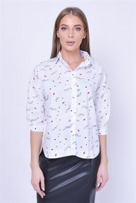4493 блузка - фото 5845
