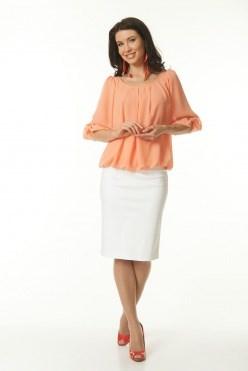 ALBS6014/персиковый блузка - фото 6337