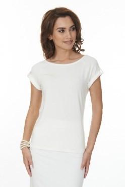 ALBT6044/молочный блузка - фото 6345