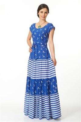 ALDS4052-1/василь с япон. поясом платье жен - фото 6363