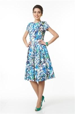 ALDS5024/мультиколор платье жен - фото 6367