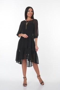 ALDS7046/черный платье - фото 6404