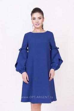 ALDS8023-1/синий платье - фото 6410