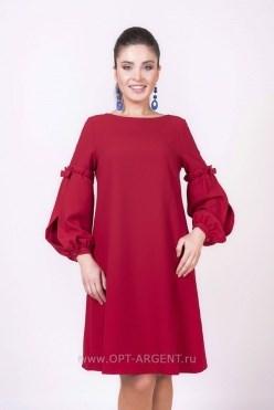 ALDS8023/красный платье - фото 6414