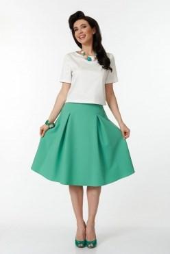ALYS6028/зеленый юбка - фото 6434