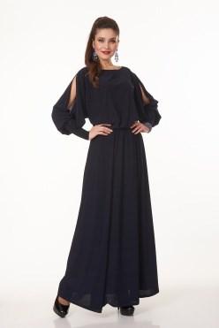 AVDT7006/синий платье - фото 6451
