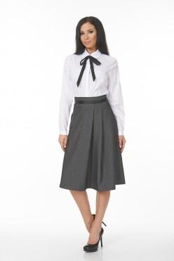 AZBS6063/белый-черный блузка - фото 6461