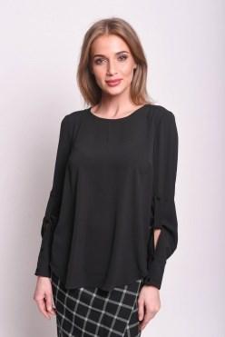 AZBS8106/черный блузка - фото 6472