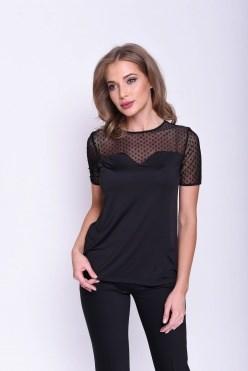 AZBT8124N/черный блузка - фото 6488
