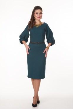 AZDS6104/изумрудный платье - фото 6501
