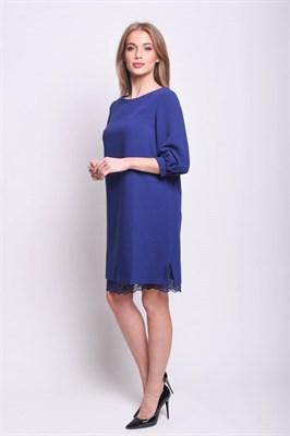 AZDS8102/синий платье - фото 6510