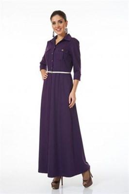 AZDT3082-1 платье сиреневое - фото 6514