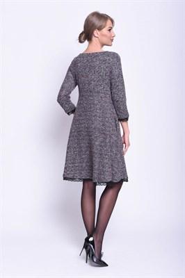 AZDT8108/фиолет букле платье - фото 6538