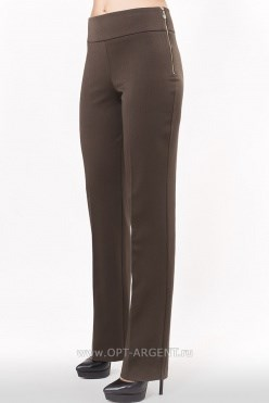 AZPS8072/темно-коричневый брюки - фото 6550