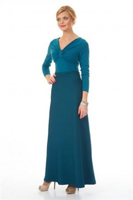 AZYS 3059 юбка зеленый - фото 6563