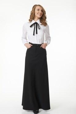 AZYS5087/черный юбка - фото 6564