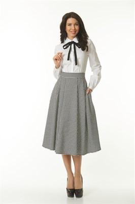 AZYS6013/черно-белый юбка - фото 6567