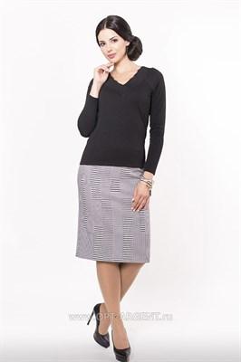 AZYS8071/черно-белый юбка - фото 6576
