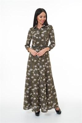 LALDS8024/зеленый платье - фото 6581