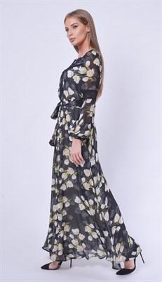 LAVDS7022/черный платье - фото 6604