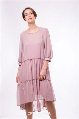 VLD900914/розовый платье - фото 6626