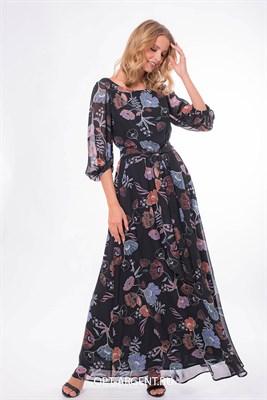 VLD903999/черный платье - фото 6633