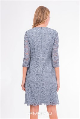 VLD906320/голубой платье - фото 6642