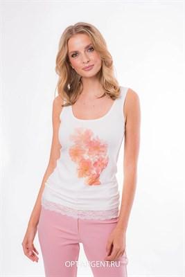 VLR902602/молочный блузка - фото 6654