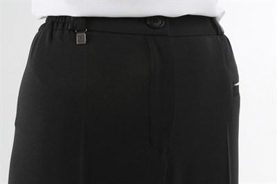 552-01/черный брюки - фото 6714