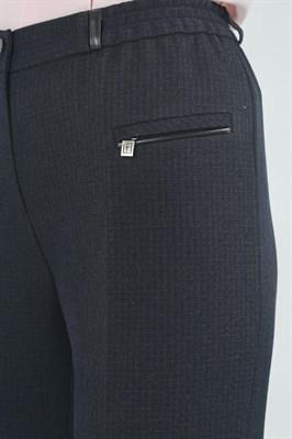 552-840/корич-черный брюки - фото 6757