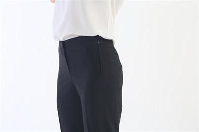 740-510/черный брюки - фото 6760