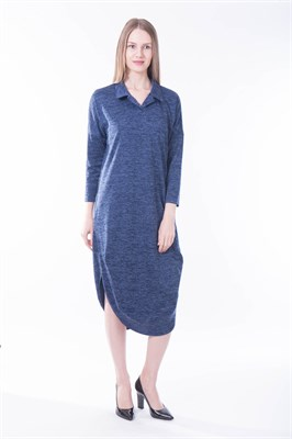 Франция/синий платье - фото 6765