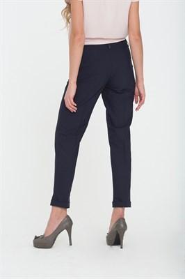 740-155/т.синий брюки - фото 6817