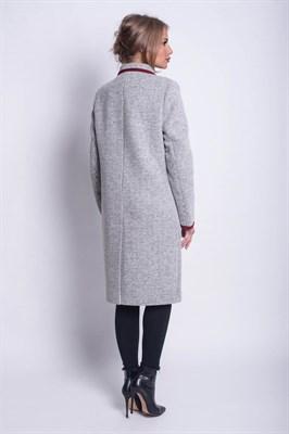 501/серый пальто - фото 6829