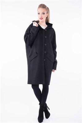 374/ARTE200/DRAP/черный пальто - фото 6894