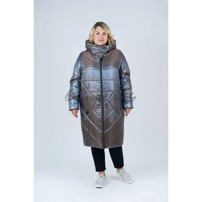 УП 519 С зимнее пальто бронза - фото 6976