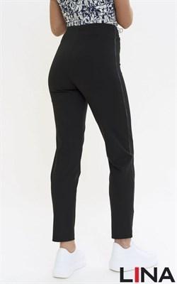 2177/черный брюки - фото 7127