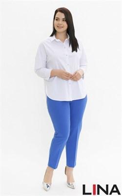 41130 белый блуза - фото 7161