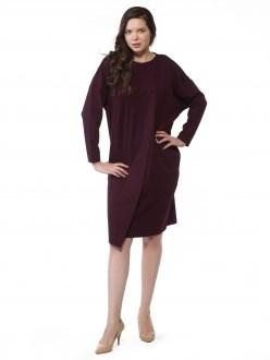 7809 сливовый ANNAVERO платье - фото 7220