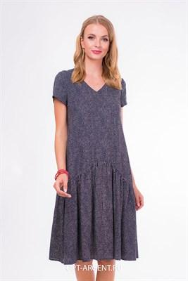 VLD906518 Платье синий - фото 7240