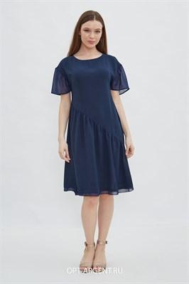 VLD2003518 Платье женское (синий) - фото 7243