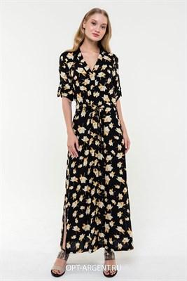 VLD2002599 Платье женское (черный) - фото 7246
