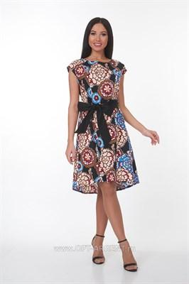 ALDS7057 Платье женское мультиколор - фото 7255