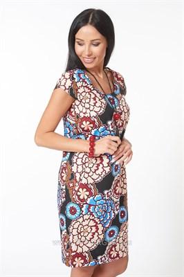 ALDS7062 Платье женское мультиколор - фото 7257