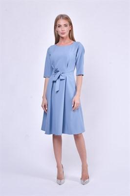 02958010 платье с поясом - фото 7770