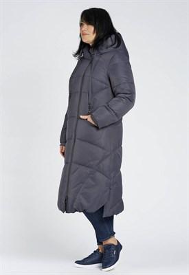 2011/темно-серый пальто - фото 8156