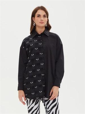 Блуза женская BL 001 1944 черн. - фото 8275